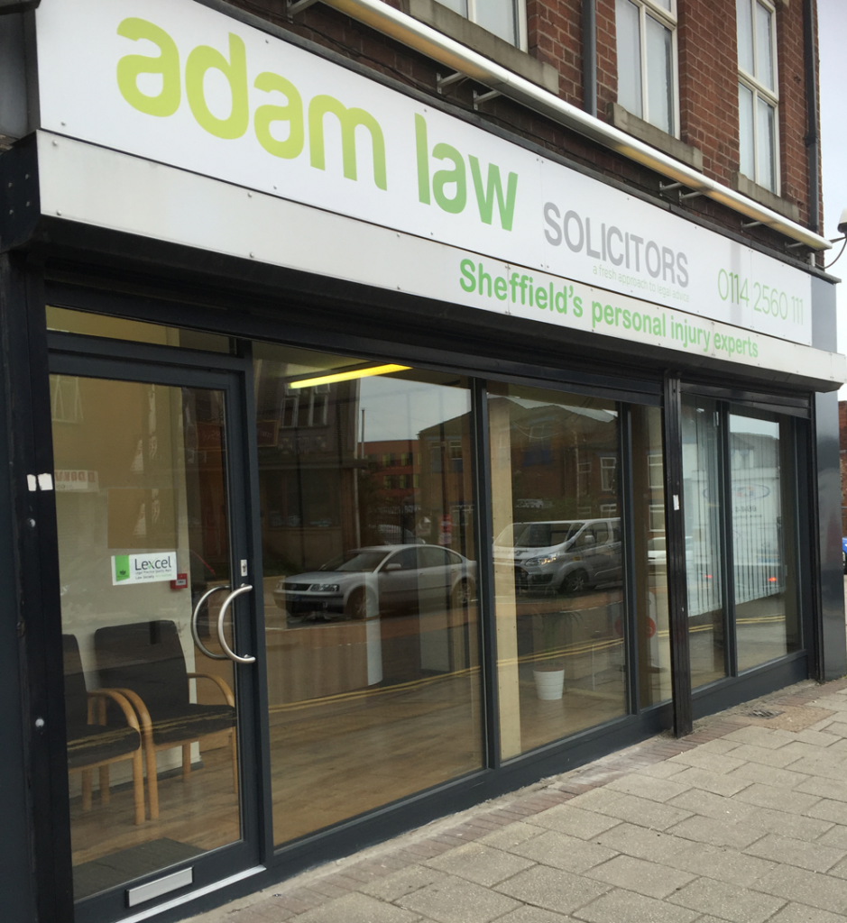 Adam Law Personal Injury Solicitors Sheffield