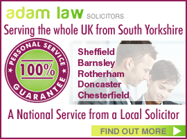 Personal injury compensation claim sheffield barnsley rotherham doncaster chesterfield solicitor