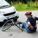 Cyclist back injury claim