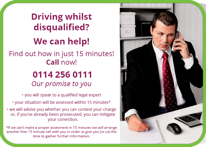 driving without insurance solicitor sheffield