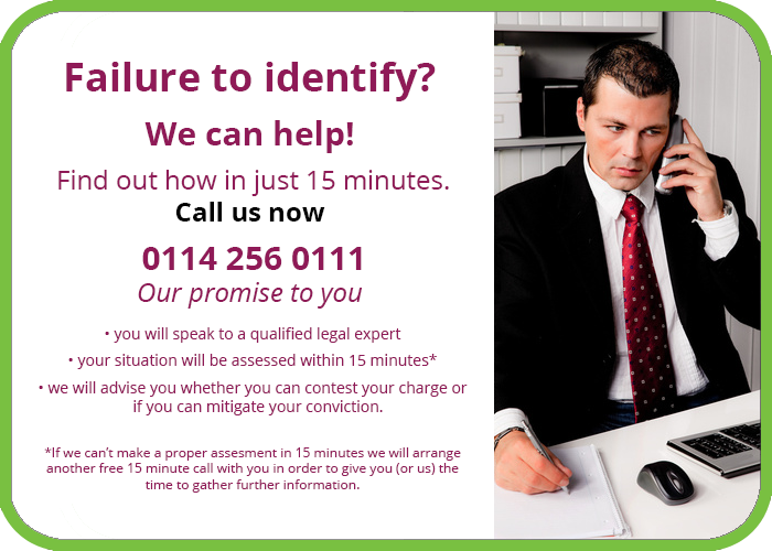 Failure to identify solicitors sheffield