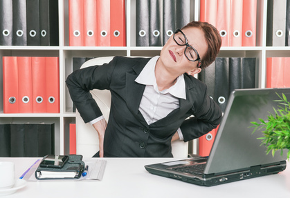 claim compensation for repetitive strain back injury at work