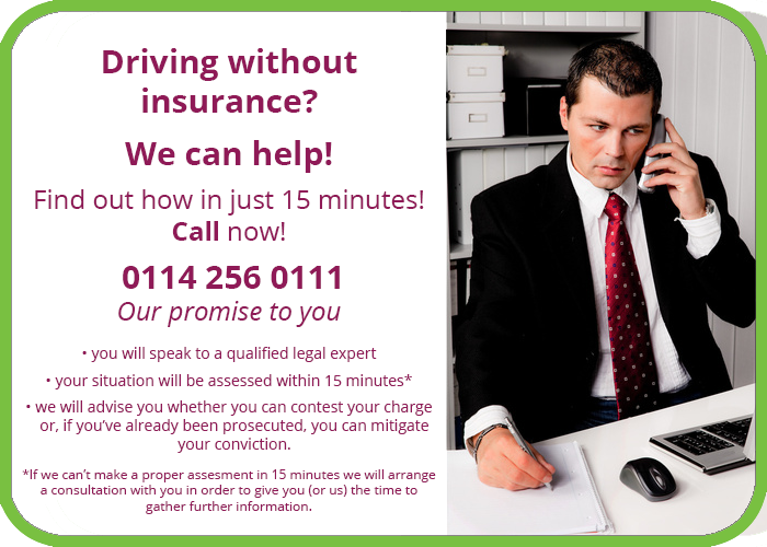 driving without insurance solicitor