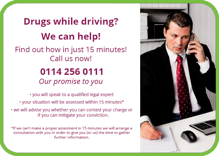 drugs while driving solicitor
